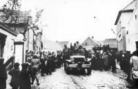 The American Army Liberating Janovice