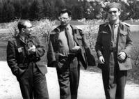 Karel Pacner At a Military Service