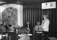 A Press Conference of Themis Society