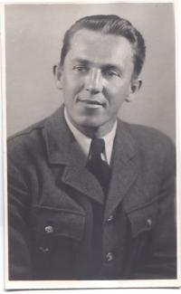 M. Černý in 1945