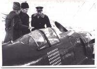 Third plane hero SSSR Marshall Kožeduba.