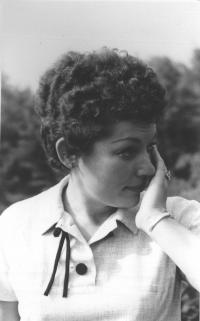 Paní Borecká (rok cca 1960)