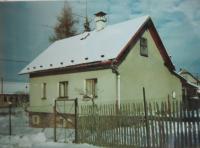 Birth house of Hugo Drásal in Dalov