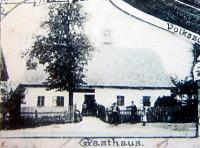 The former pub in Dalov, which was run by the witness's grandfather in the eary 20th century and which was the stage for the all-night pounding of local Germans by partisans in May 1945