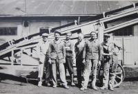In the sugar refinery in Uničov in the 1950s