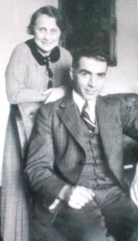 Kateřina and Bedřich Stecklmacher