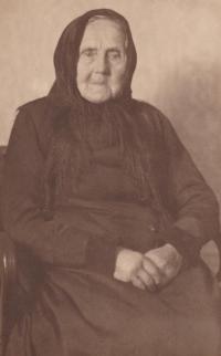 Sister Paulína's grandmother