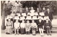 Employees of Holečkova School
