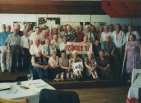 Picture from annual meeting of former inmate of the institution for young delinquents in Zámrsk