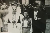 Brother Rudolf and grandparents Čermák