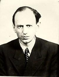 Photo of her father Vojtěch Mareška from State Security Police file