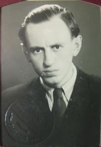 Father Vojtěch Mareška at Charles University