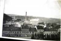 Kralupy nad Labem before bombing - sugar factory
