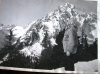 D. Hanauerová in Tatry