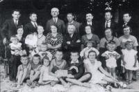 Family of teacher Josef Vlk (1935)