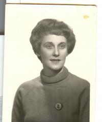 Doris Grozdanovičová during her youth