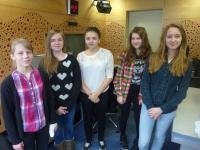 Children on the workshop in the Czech radio