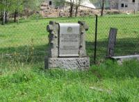 The grave of Josef Weiser from Nové Vilémovice, who was shot while smuggling