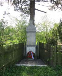 A Monument to the fallen in World War I in Nové Vilémovice