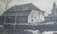 "The former Inn ""Berk"" in Nové Vilémovice"