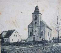 The former Church of the Assumption of Virgin Mary in Nové Vilémovice