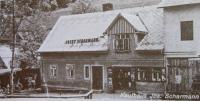 The shop of Josef Scharmann in Nové Vilémovice