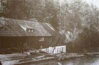 The saw mill of Josef Beck in Nové Vilémovice