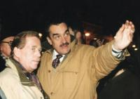 Karel Schwarznberg and Václav Havel