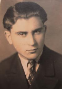Rostislav Novotny aged 17