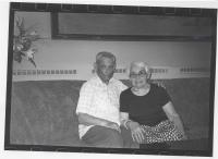 František Elston s manželkou