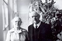 parents Bohumír and Božena Alšovi (Axmanovi), 1970s