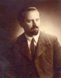 Orthodox priest Bohumír Aleš (Axman), 1950s