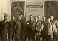 Kurt Markovič at Military academy in Leningrad