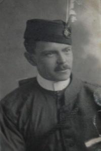 Father in a uniform