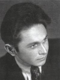 Ladislav Bartůněk v roce 1949