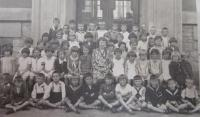 The first grade of elementary school in Šumperk.