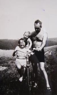 Husband Vladimir with children