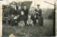 Depotred from Halychyna families of Greek-Catholic prists Mykytka, Kotlyarchuk,Vengrynovych and Petrash. Special settlement Dzhonka, 1955.