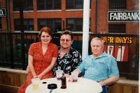 Se synem Zdenkem a jeho manželkou Miroslavou v Dallasu (2005)