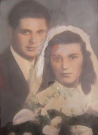 Erwin Baránek with his wife