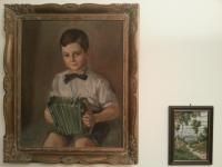 Mr. Josef Drašnar as a young boy