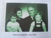 The Drašnar family in 1943