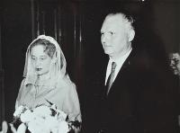 Svatba Juliány a Miroslava Lápkových