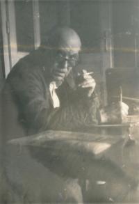 Rudolf Czernin, aprox. 1980 in Vienna