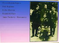 Anna Havranová_with husband and others after Kiev offensive in 1943
