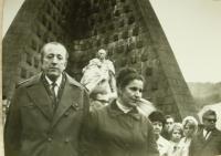 Anna Havranová_with husband in Dukla