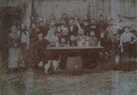 Ancestors and inhabitants of the village Hlinsk (probably)