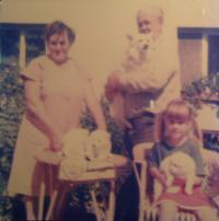 Relatives of Jelena Podhájská-Jarmoljuk, 1991