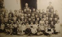 School in Hlinsk, year 1993