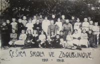 Czech school in Zdolbunov